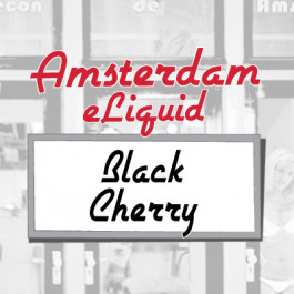 Amsterdam Black Cherry e-Liquid
