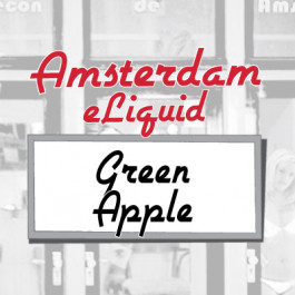 Amsterdam Green Apple e-Liquid