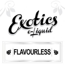 Exotics Flavorless e-Liquid