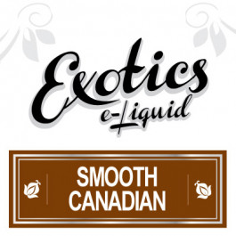 Exotics Smooth Canadian e-Liquid