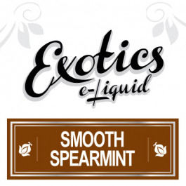Exotics Smooth Spearmint e-Liquid