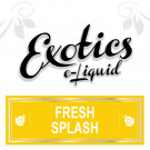 Exotics Fresh Splash e-Liquid