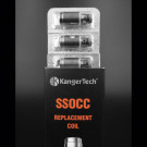 Kanger SSOCC 1.2 ohm (Stainless Steel Organic Cotton Coil) for SUBTANK Series/TOPTANK Series/NEBOX 5PCS/PACK