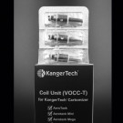VOCC-T Coils 1.5 ohms 5/PK Fits and all dual clearomizers 5/pk