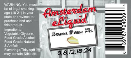 Amsterdam e-Liquid