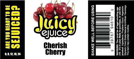 Juicy eJuice Cherry e-Liquid